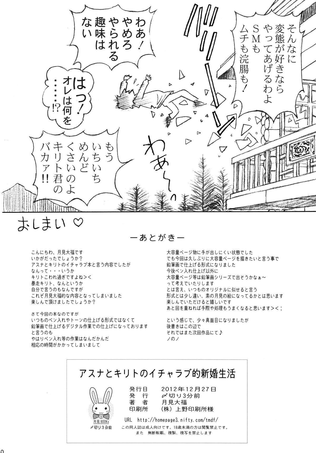Asuna to Kirito no Icha Love Teki Shinkon Seikatsu 29