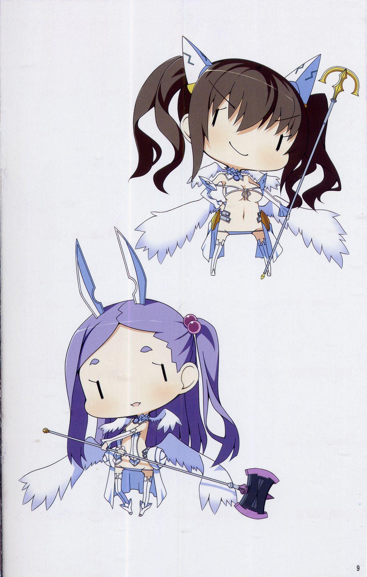 Mahou Shoujo youshingata sentou ishou nitsuite Booklet 9