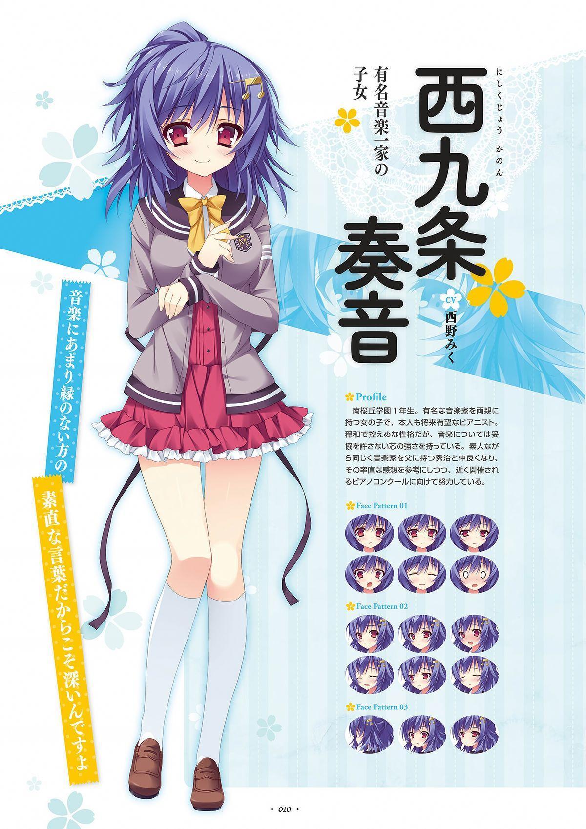 Shukufuku no Kane no Oto wa, Sakura-iro no Kaze to Tomo ni Visual Fanbook 11