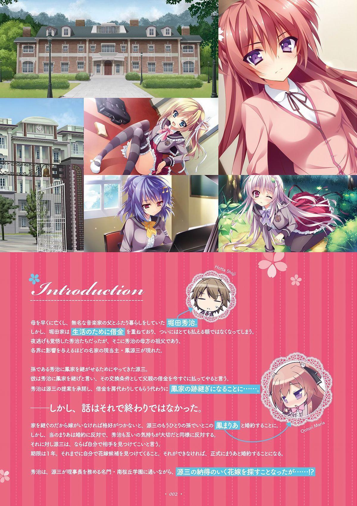 Shukufuku no Kane no Oto wa, Sakura-iro no Kaze to Tomo ni Visual Fanbook 3