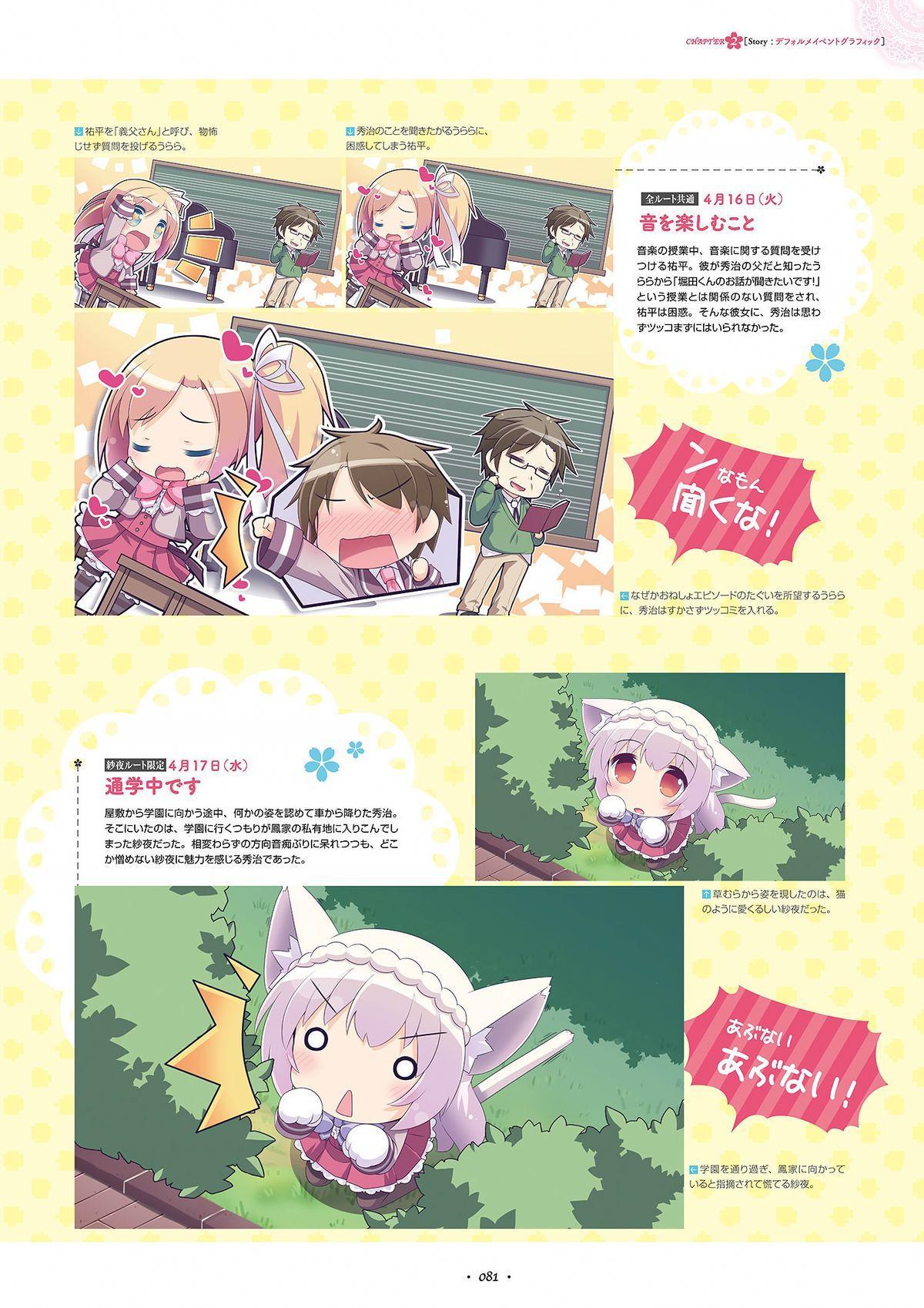 Shukufuku no Kane no Oto wa, Sakura-iro no Kaze to Tomo ni Visual Fanbook 82