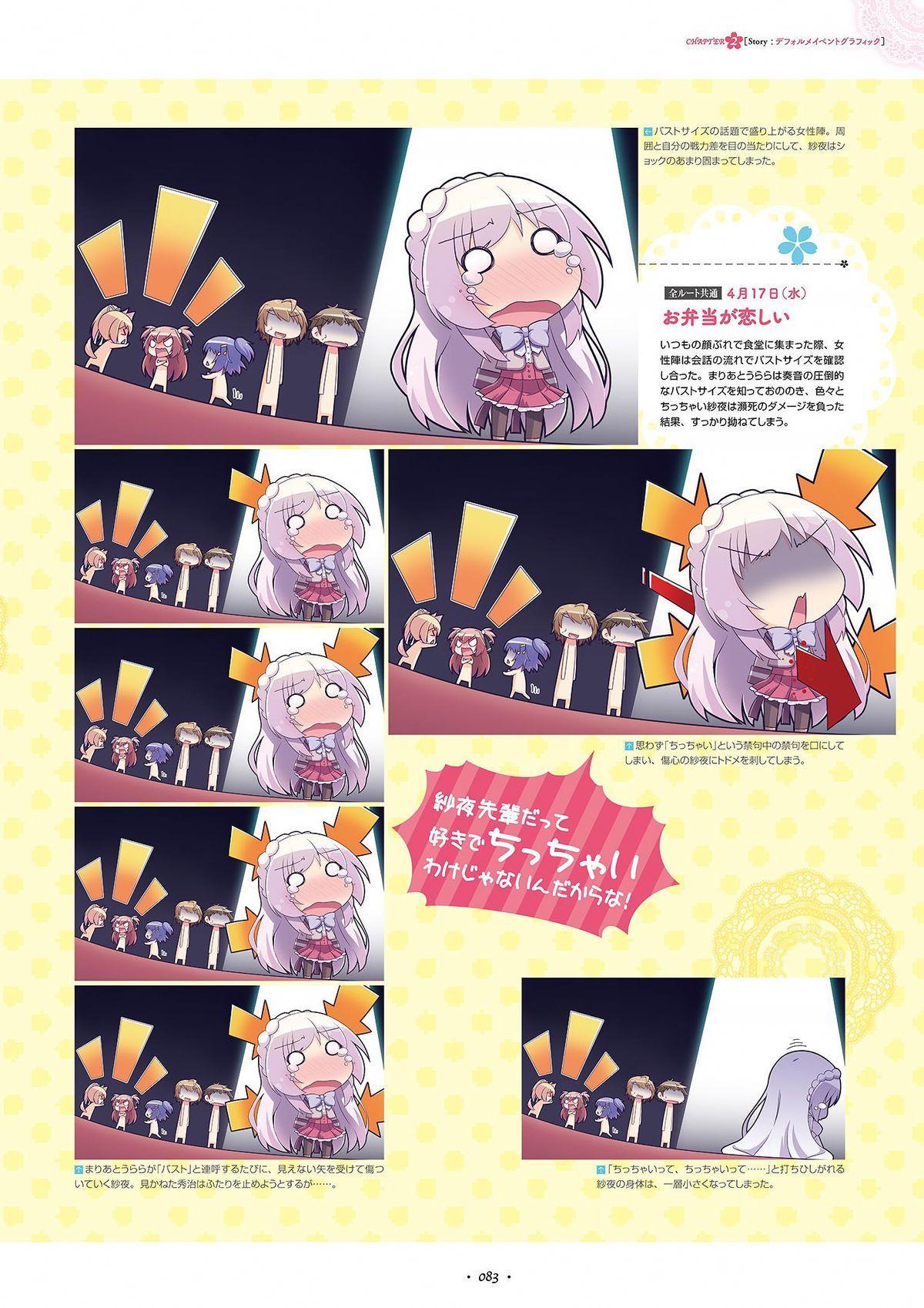 Shukufuku no Kane no Oto wa, Sakura-iro no Kaze to Tomo ni Visual Fanbook 84