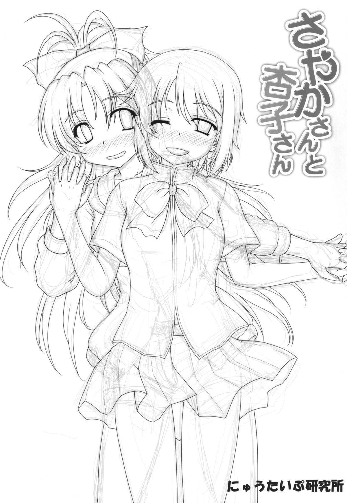 (SHT2013 Haru) [Newtype Kenkyuujo (Kotowari)] Sayaka-san to Kyouko-san (Puella Magi Madoka Magica) 2