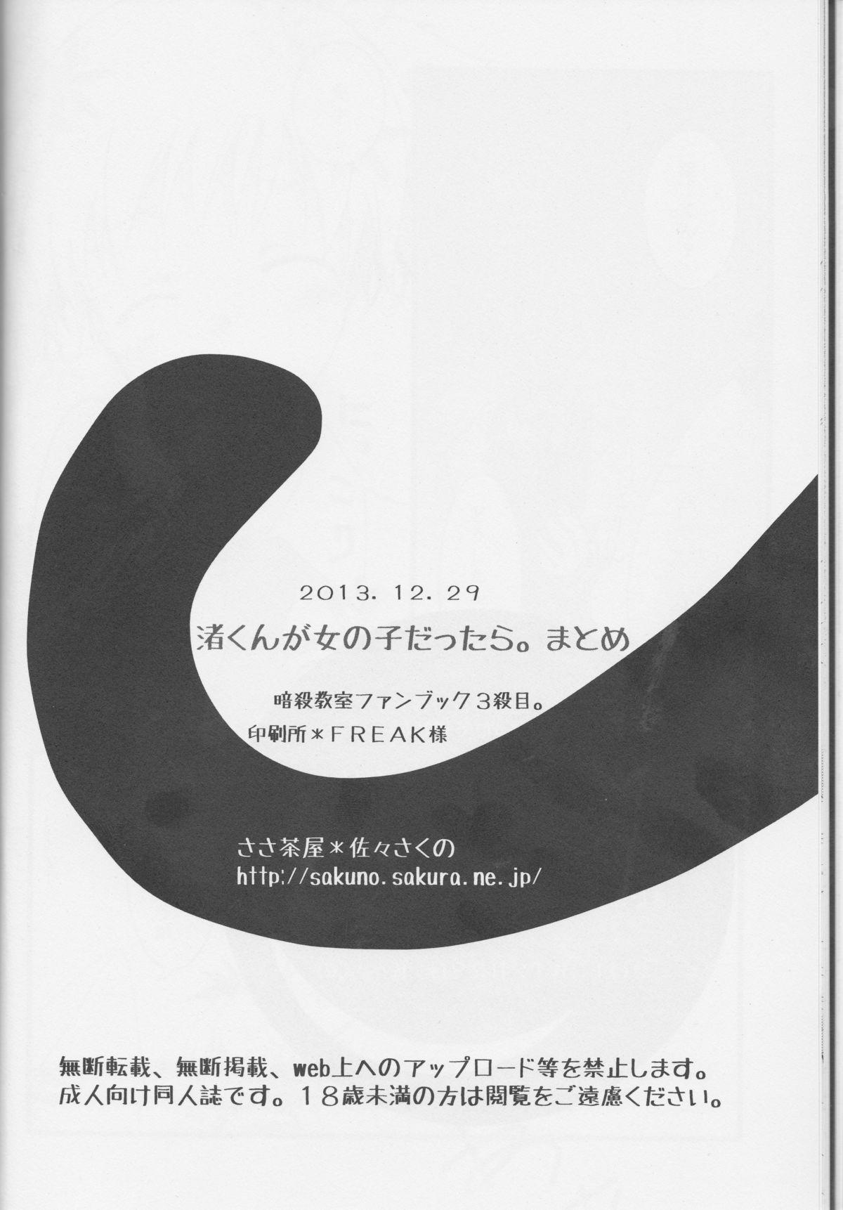 Nagisa-kun ga Onnanokodattara. Matome 24