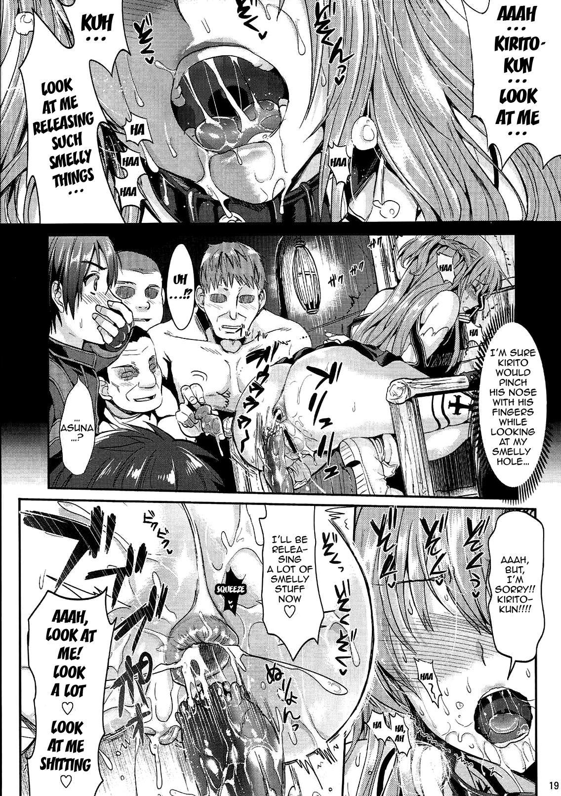 [YURIRU-RARIKA (Kojima Saya, Lazu)] Shujou Seikou 2 Bangai-hen | Captive Sex 2 - Extra Chapter (Sword Art Online) [English] {doujin-moe.us} 17