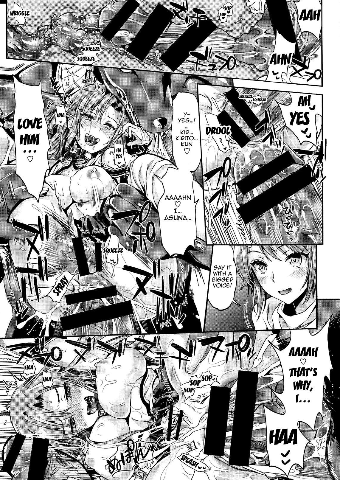 [YURIRU-RARIKA (Kojima Saya, Lazu)] Shujou Seikou 2 Bangai-hen | Captive Sex 2 - Extra Chapter (Sword Art Online) [English] {doujin-moe.us} 24