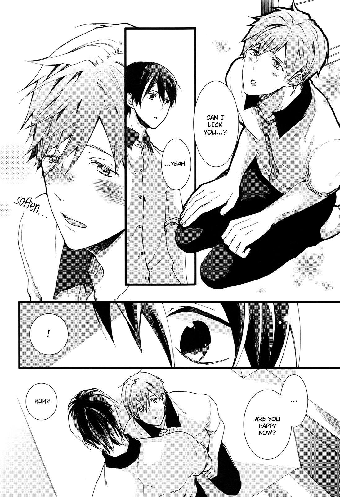(Renai Jiyuugata! entry2) [BALL:S (Som)] Okuchi ga Warui yo Haruka-kun! | You Have a Bad Mouth, Haruka-kun! (Free!) [English] [Holy Mackerel] 8