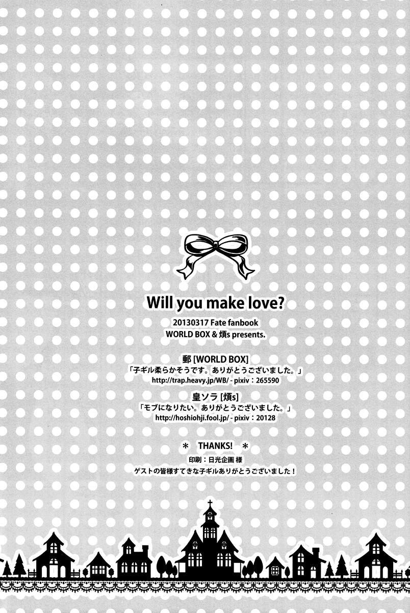 Will You Make Love? 17