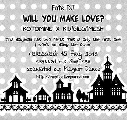 Will You Make Love? 18