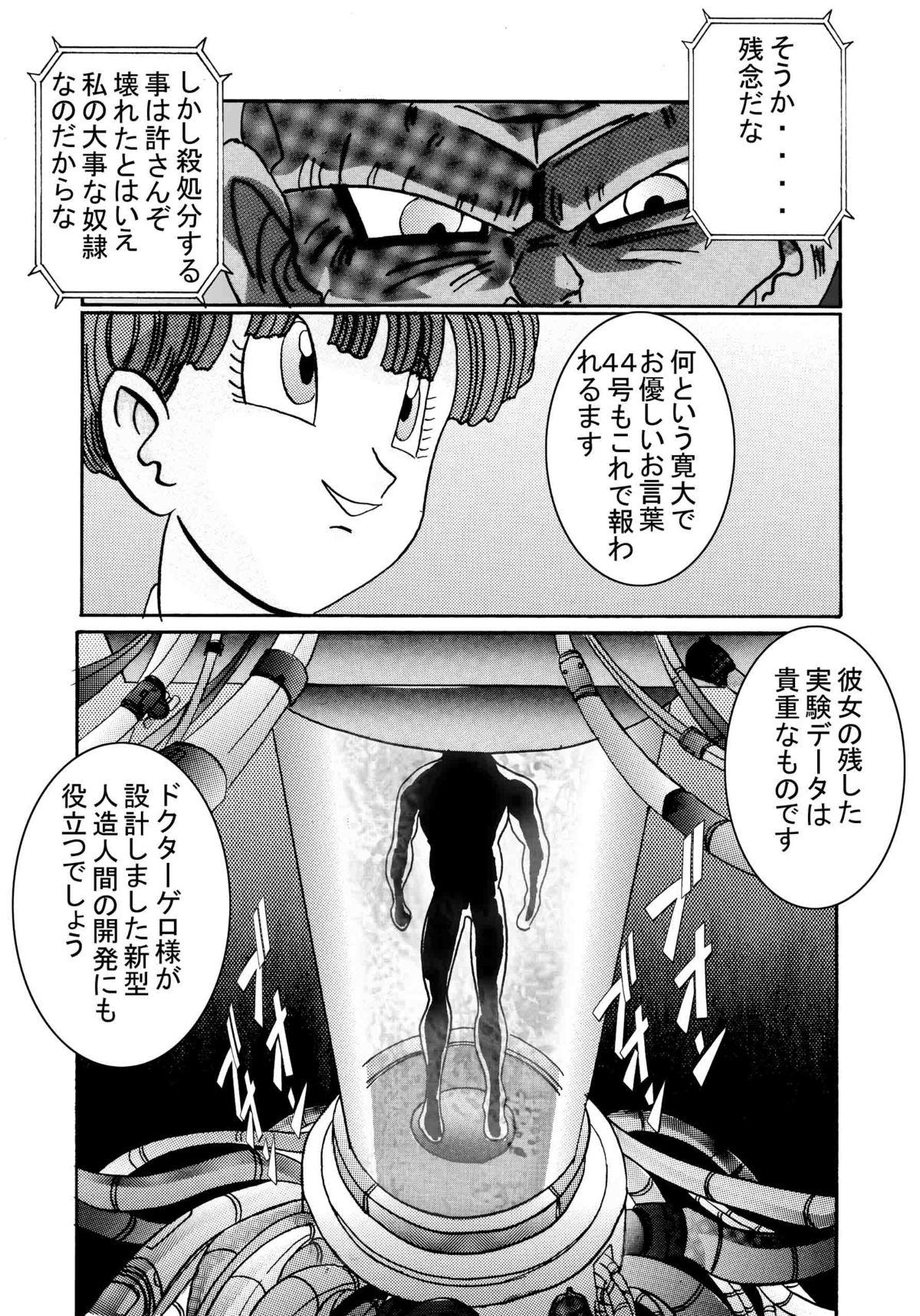 [Light Rate Port Pink] Tanjou!! Aku no Onna Senshi Jinzou Ningen 18-gou Sennou Kaizou Keikaku -Joshou- (Dragon Ball Z) 10