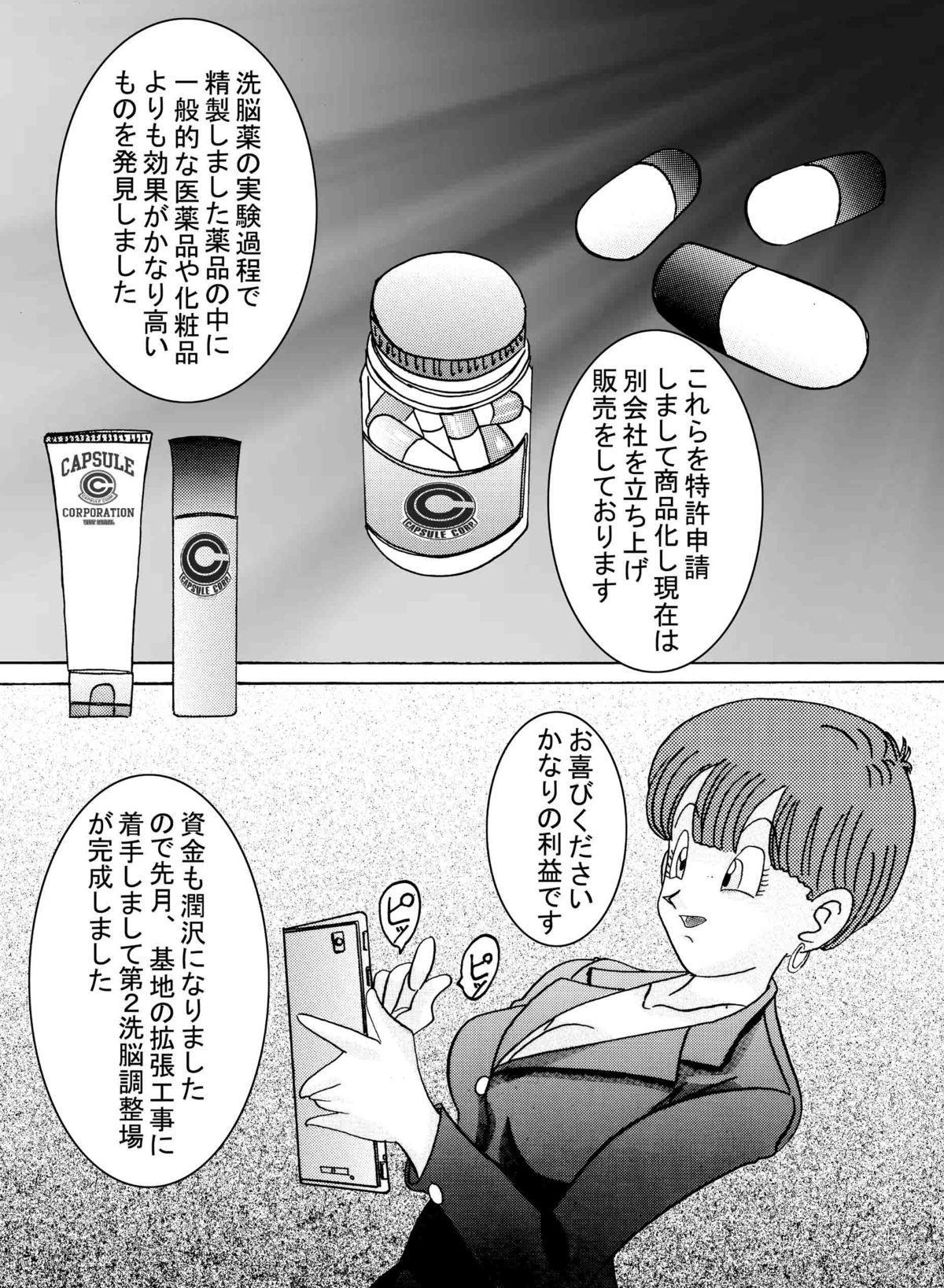 [Light Rate Port Pink] Tanjou!! Aku no Onna Senshi Jinzou Ningen 18-gou Sennou Kaizou Keikaku -Joshou- (Dragon Ball Z) 4