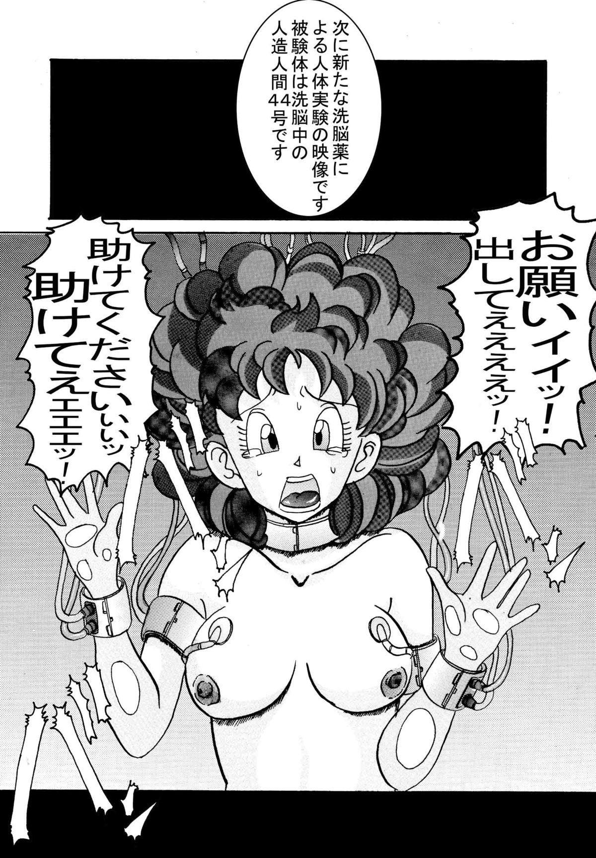 [Light Rate Port Pink] Tanjou!! Aku no Onna Senshi Jinzou Ningen 18-gou Sennou Kaizou Keikaku -Joshou- (Dragon Ball Z) 6