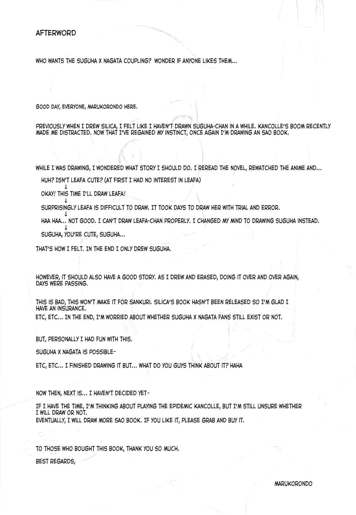 Suguha no Usuusu na Ehon 2 | Suguha's Thin Picture Book 2 23