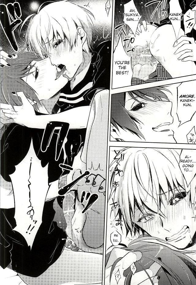(Tokyo Shock 2) [DIANA (Assa)] Tsukiyama-san, Shibatte agemasu.   Tsukiyama-san, I'll tie you up! (Tokyo Ghoul) [English] [Irefumi] 10
