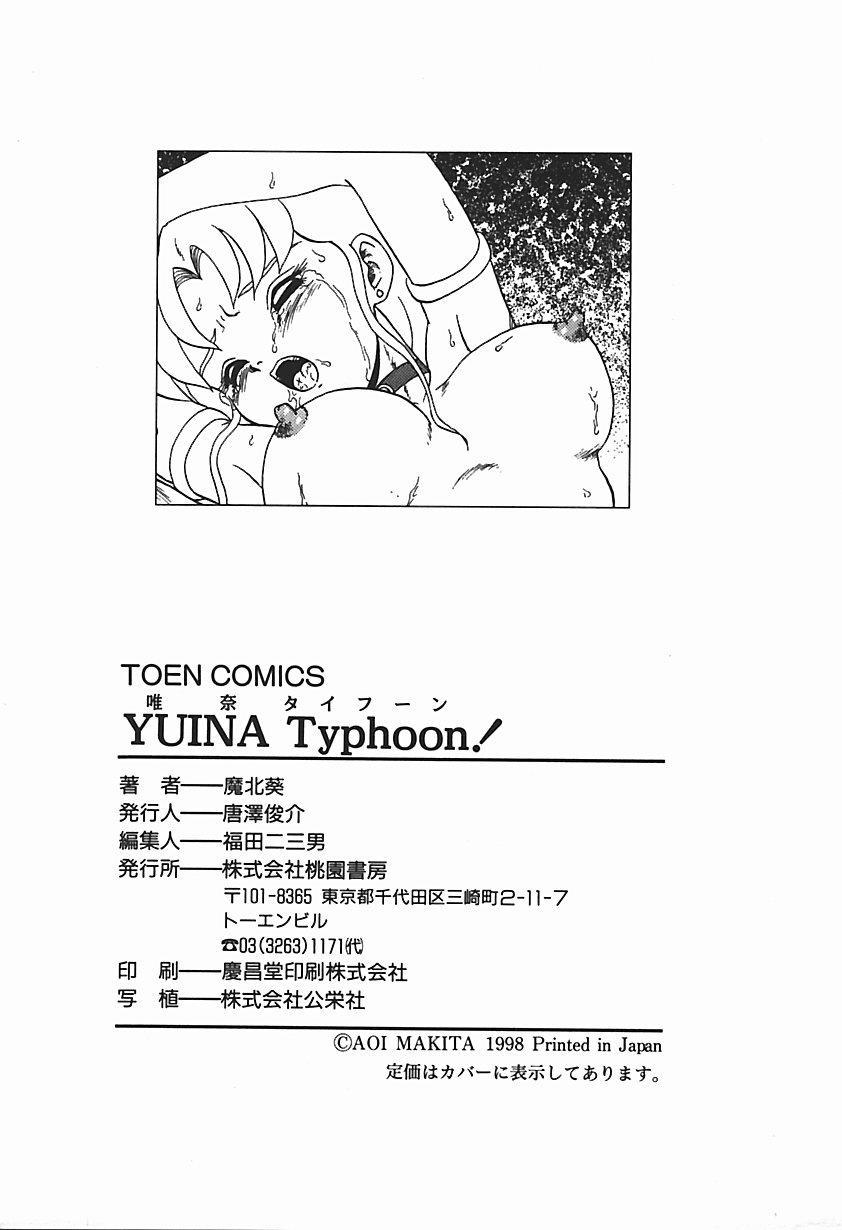 YUINA Typhoon! 179
