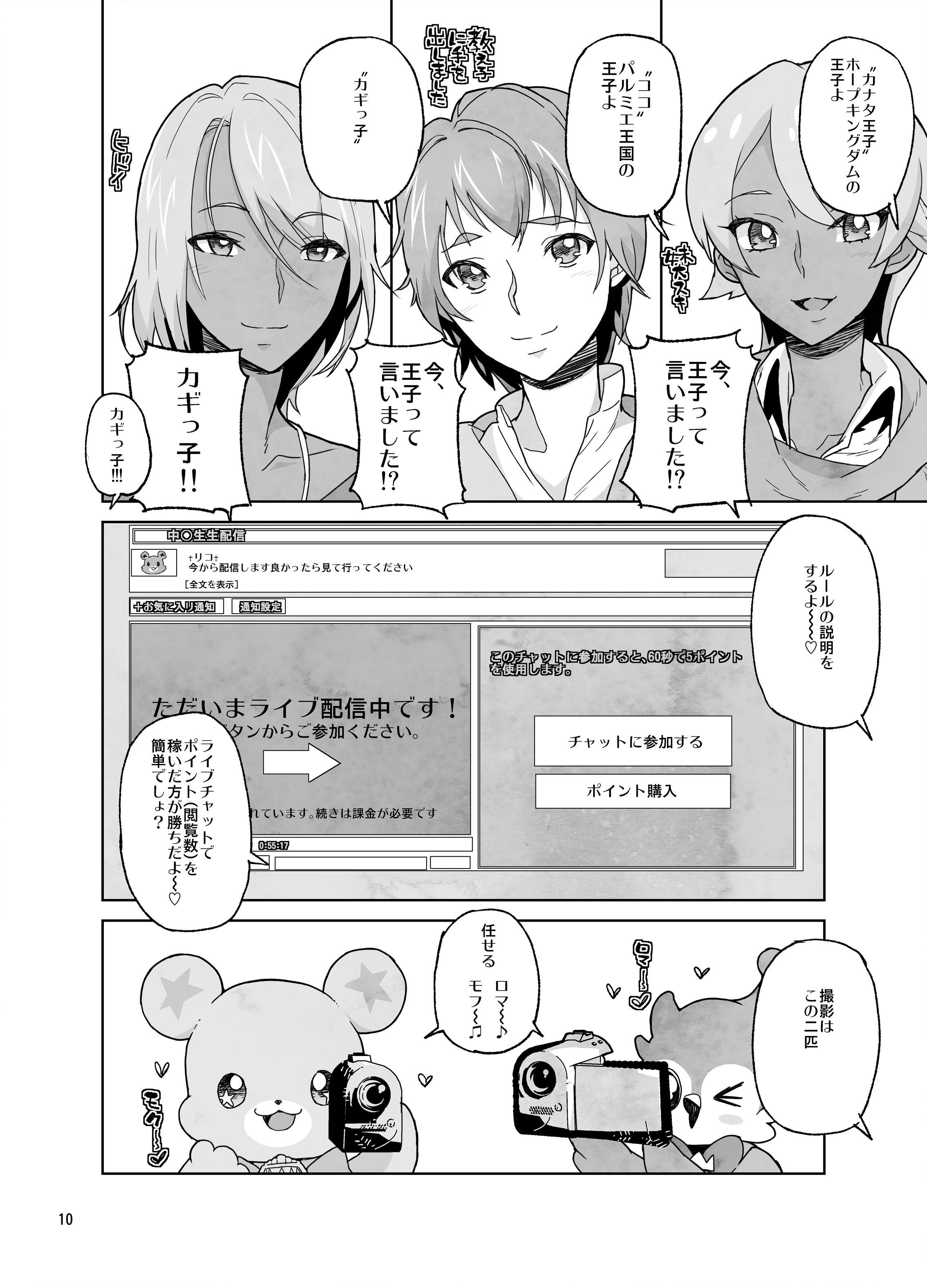 Amanogawa Kirara Riko to Mirai to Ero Nama Haishin Shoubu Anal demo Nan demo Misetekureru Choroi Namanushi ga PreCure datta Ken. 9