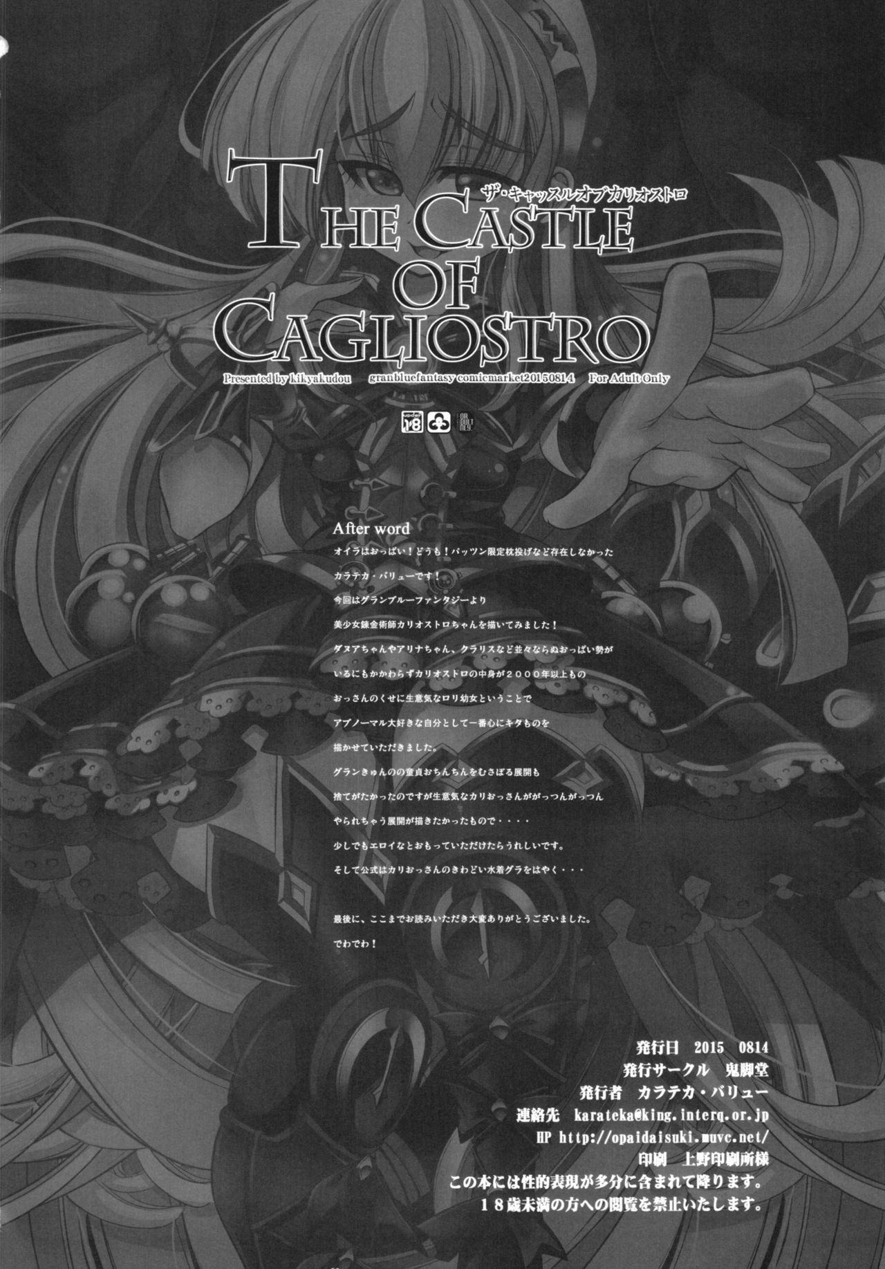 THE CASTLE OF CAGLIOSTRO 23