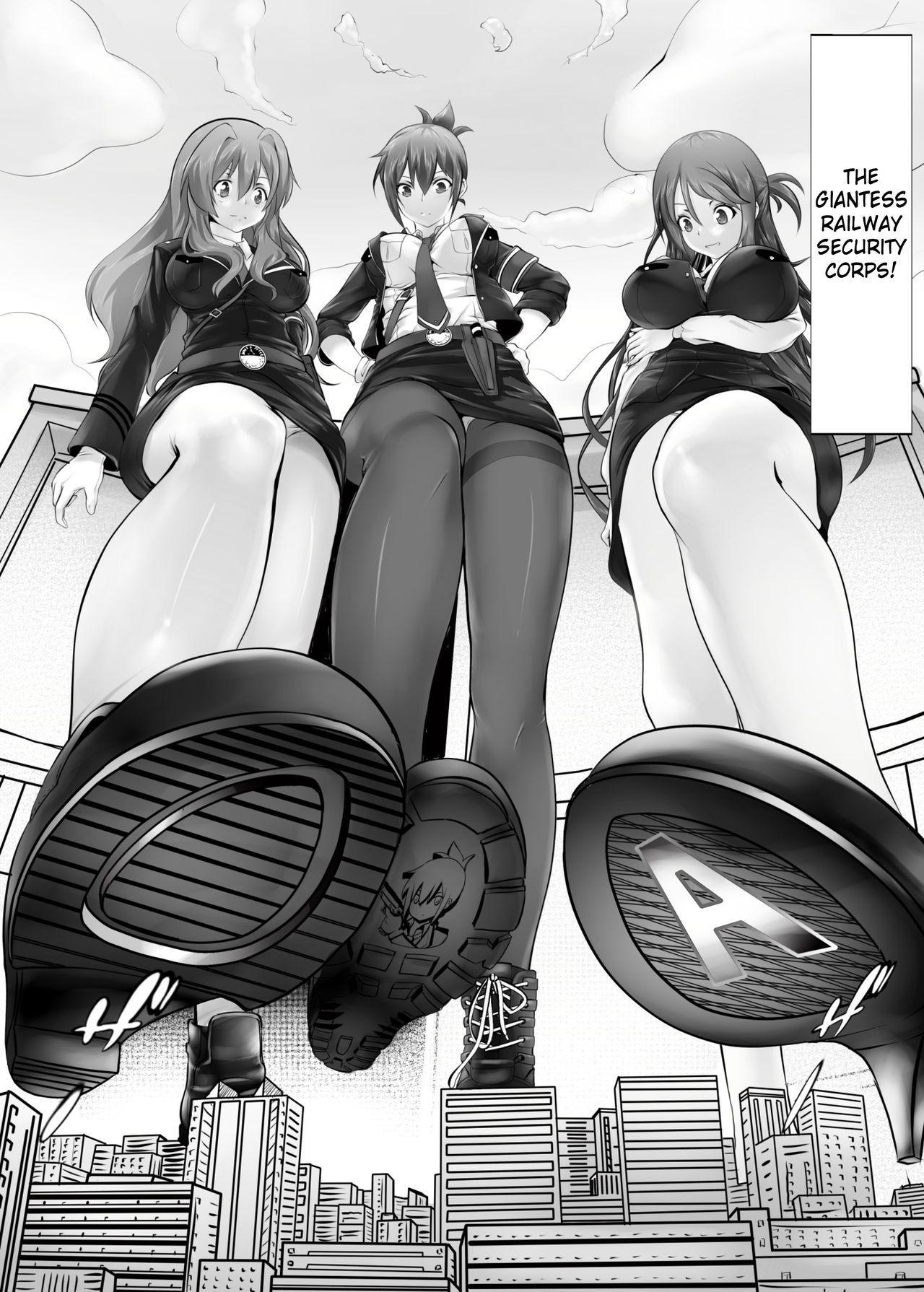 Kyodai Musume Tetsudou Kouantai - Rail Giantess! 3