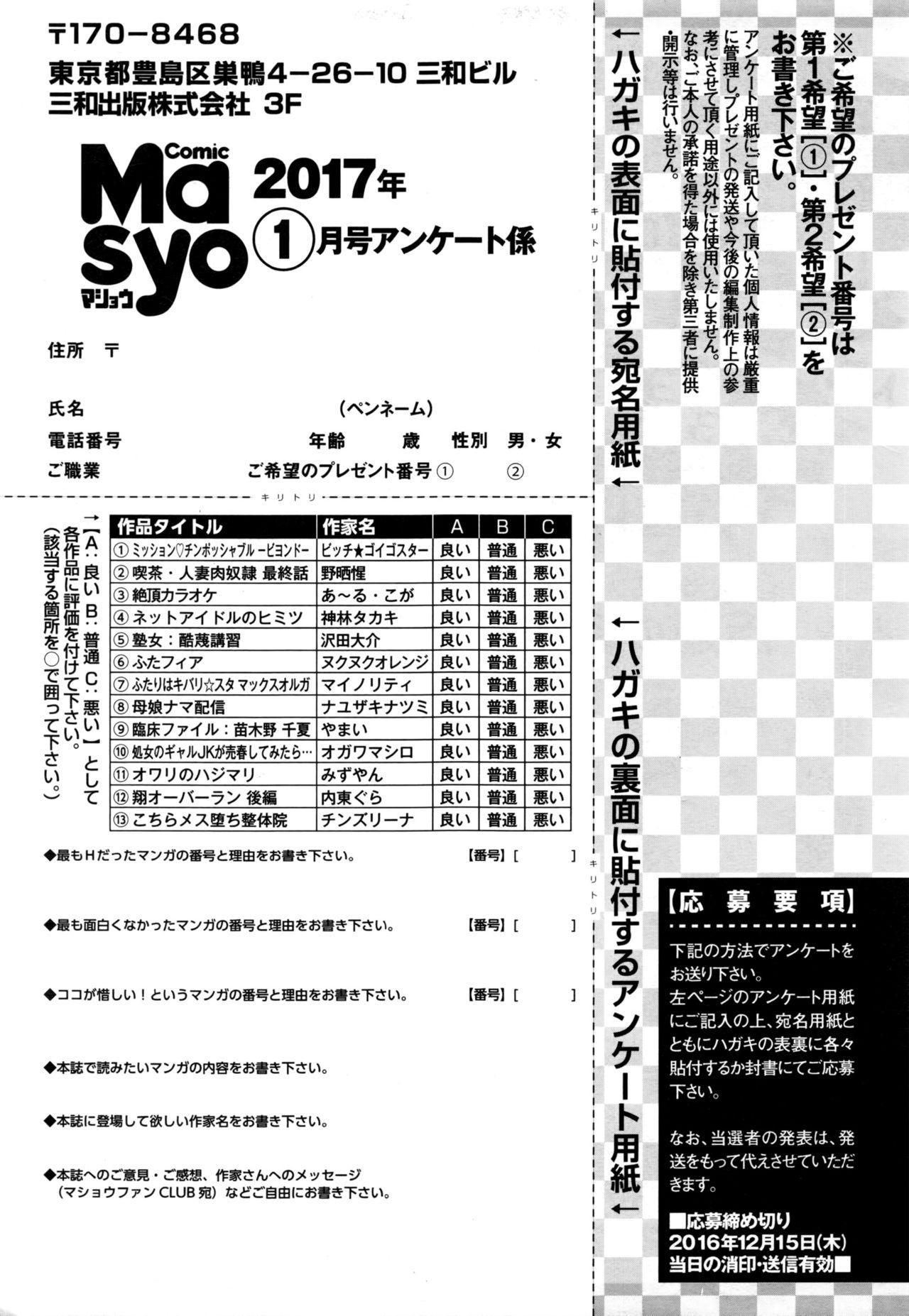 COMIC Masyo 2017-01 289