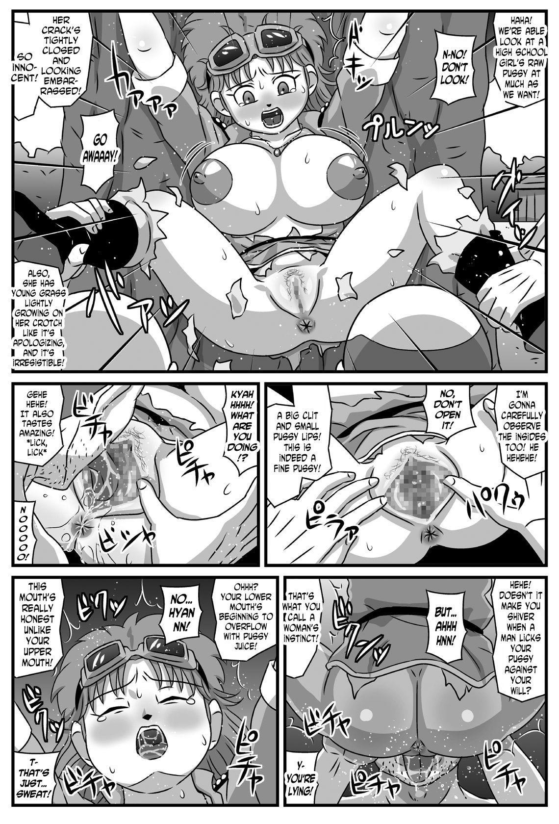 Kyonyuu Oyako ga Touzoku-dan no Nikubenki ni Nattara 5