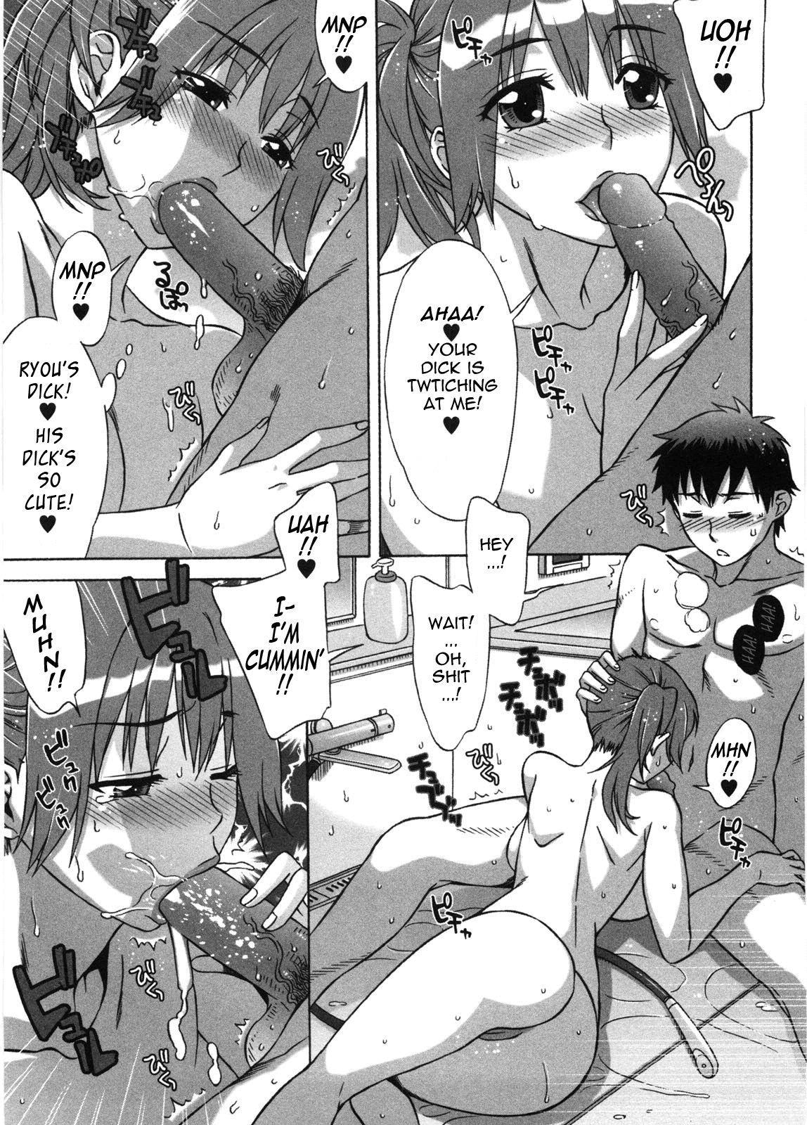 [Hanzaki Jirou] Ama Ero - Sweet Sugar Baby Ch. 1-7 [English] [Tadanohito] [Decensored] 99