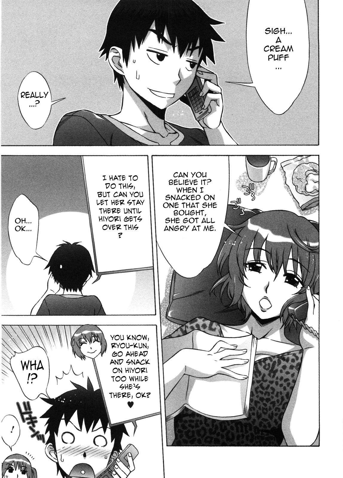 [Hanzaki Jirou] Ama Ero - Sweet Sugar Baby Ch. 1-7 [English] [Tadanohito] [Decensored] 89