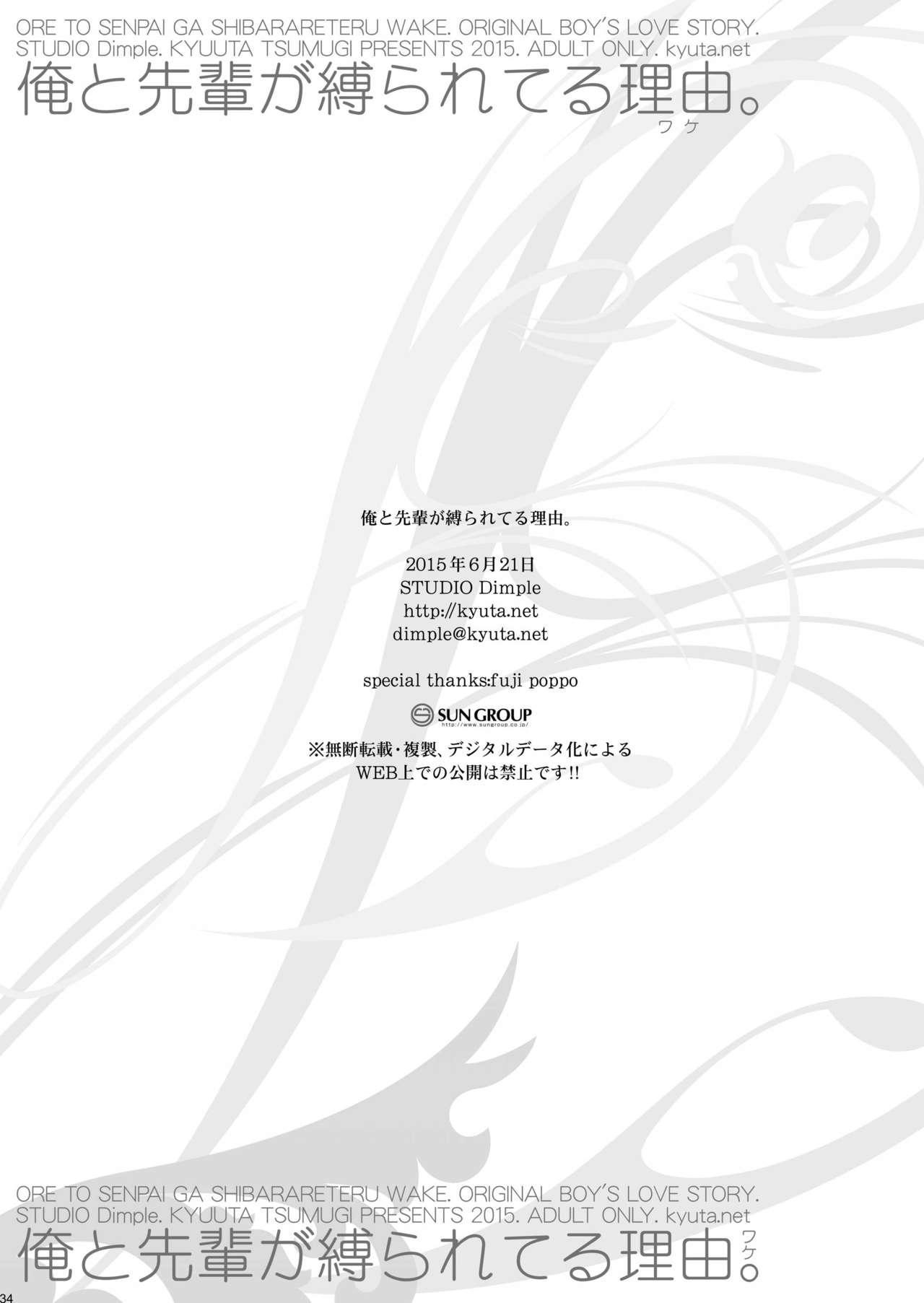 Ore to Senpai ga Shibarateru Wake. 33