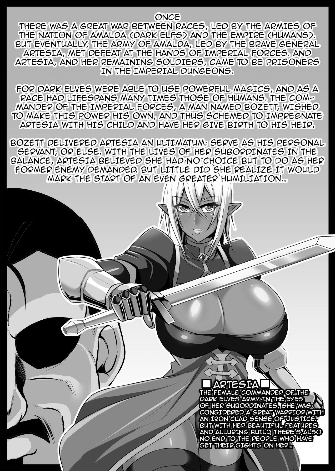 Onna Shougun Artesia - Dark Elf Haramase Choukyou Kiroku 1