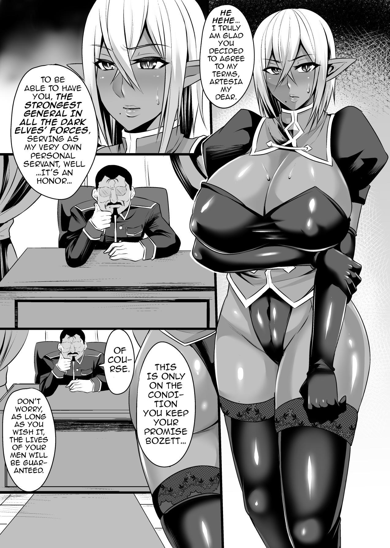 Onna Shougun Artesia - Dark Elf Haramase Choukyou Kiroku 2