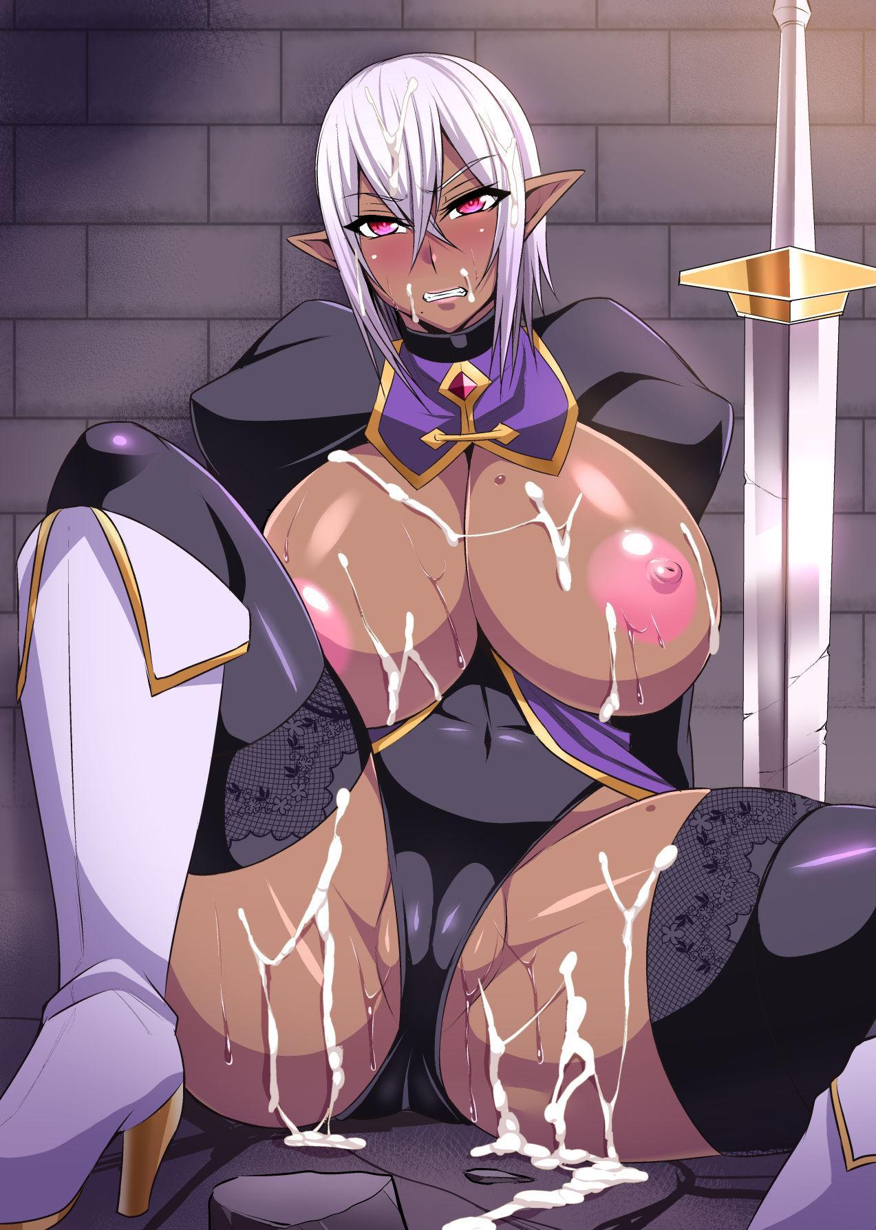 Onna Shougun Artesia - Dark Elf Haramase Choukyou Kiroku 37