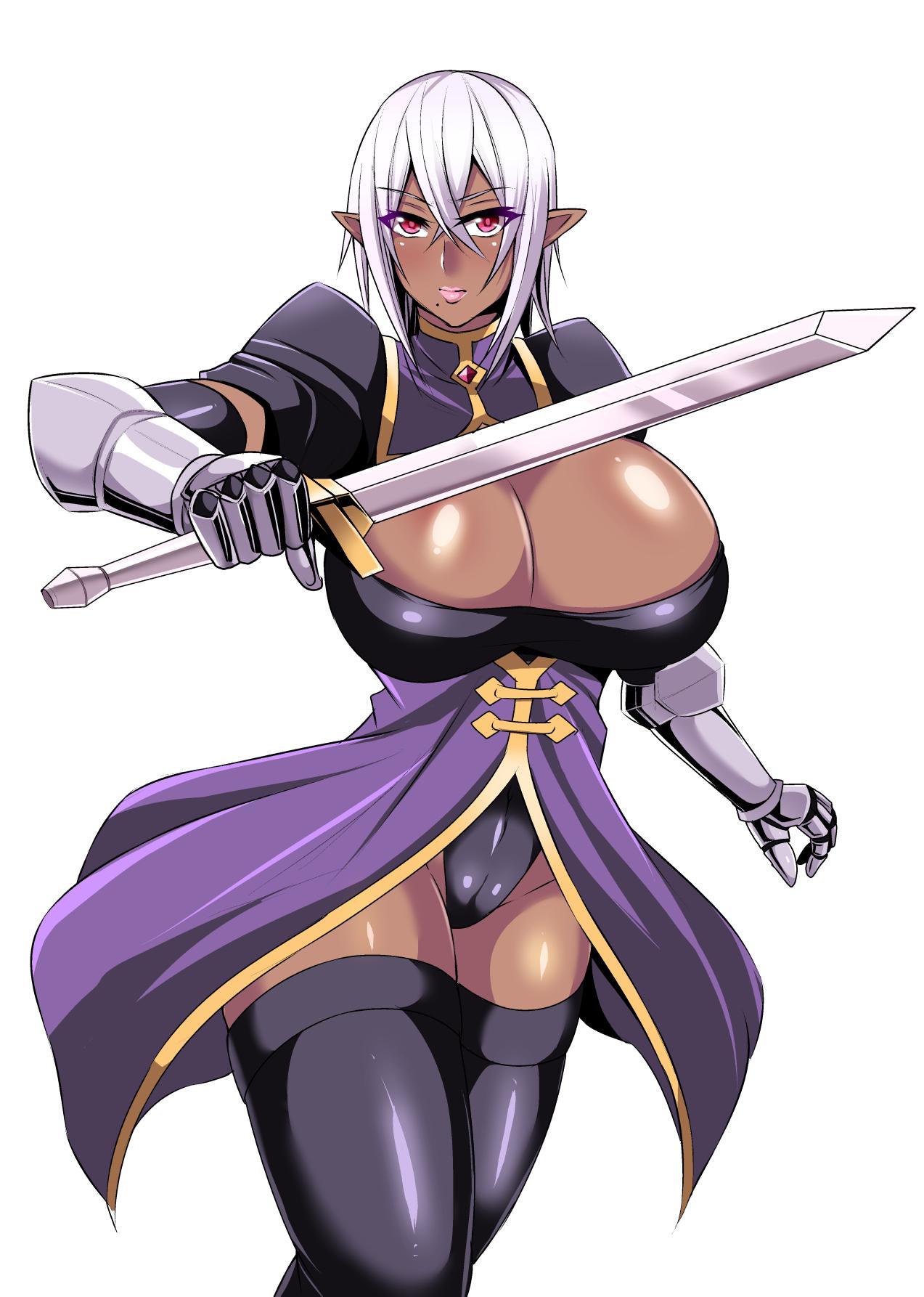 Onna Shougun Artesia - Dark Elf Haramase Choukyou Kiroku 38