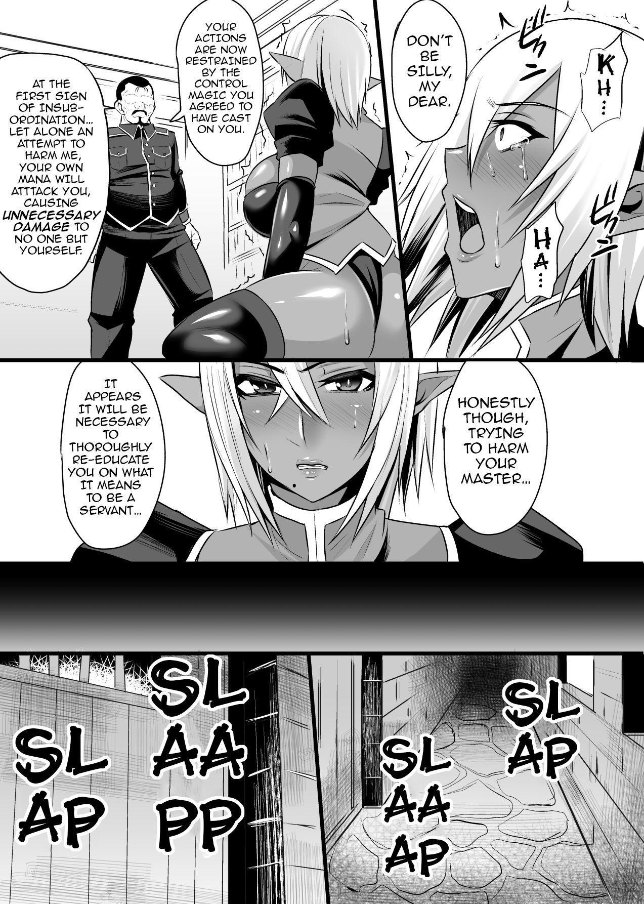 Onna Shougun Artesia - Dark Elf Haramase Choukyou Kiroku 4