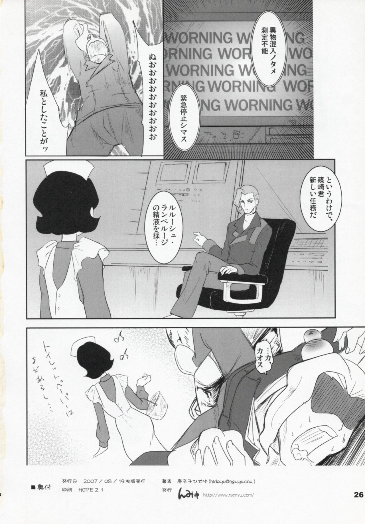 Code Gyass Sayoko-san ga Miteiru 24