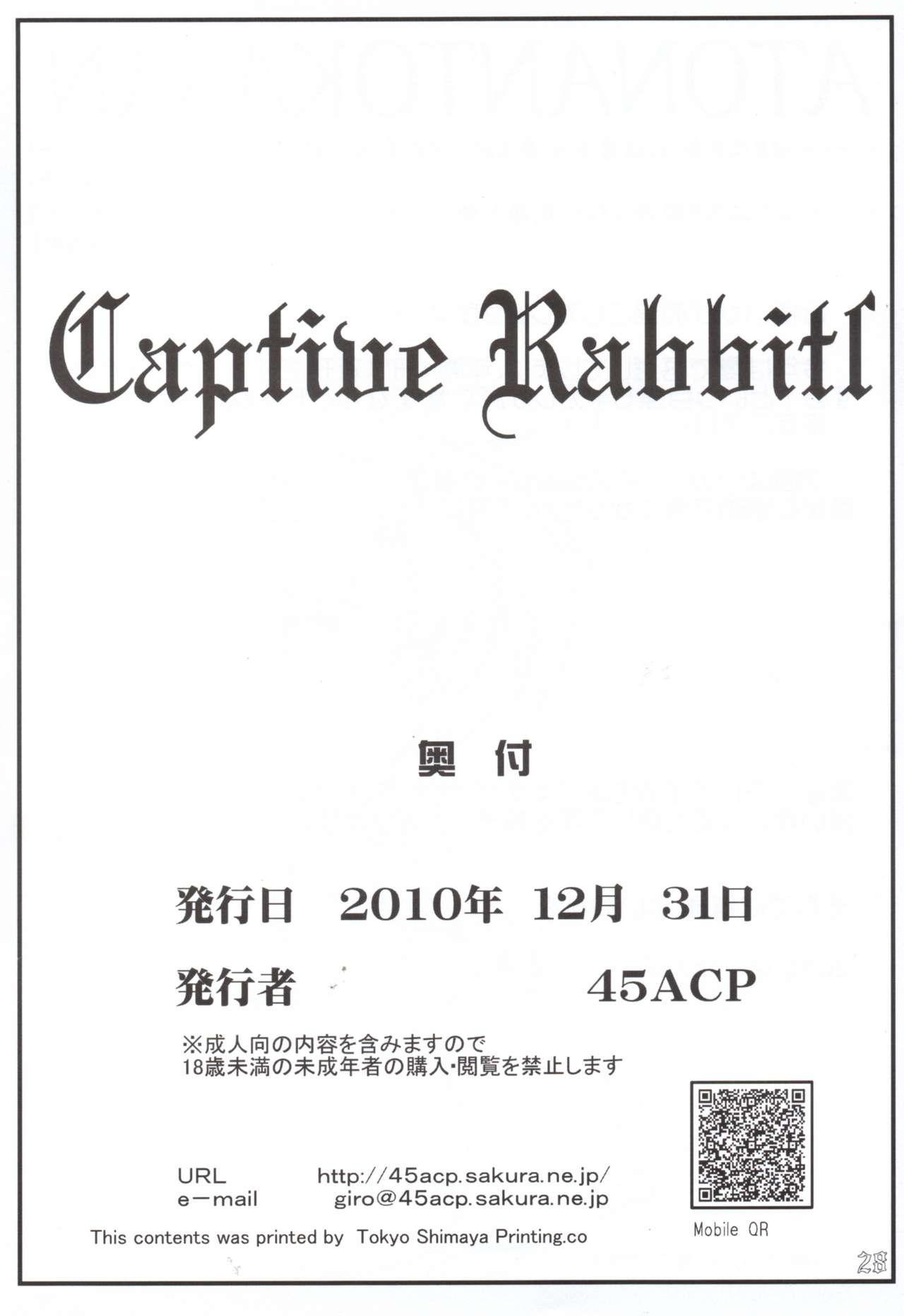 Captive Rabbitl 28