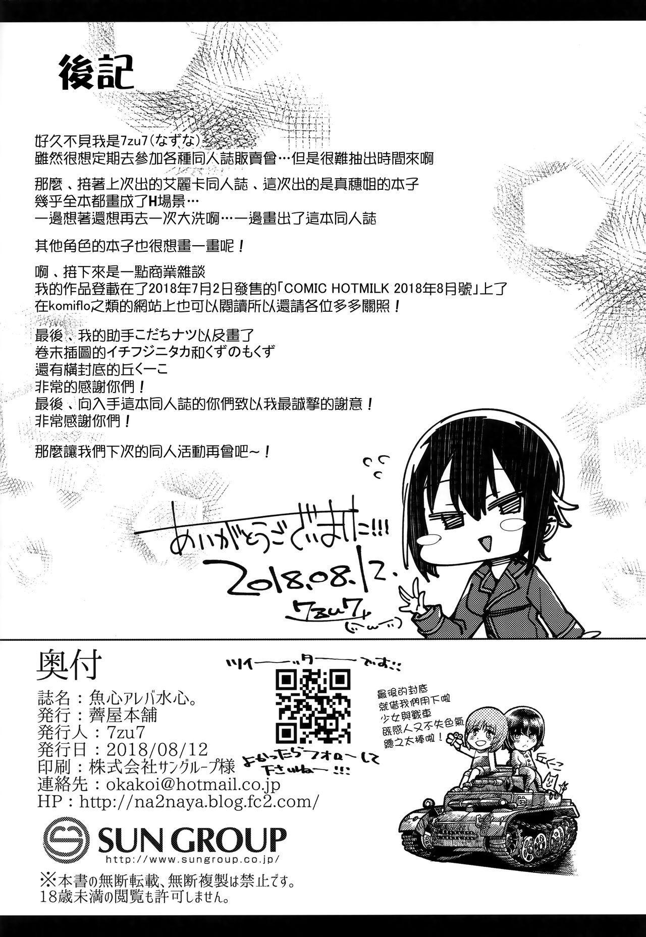 Uogokoro Areba Mizugokoro. 22