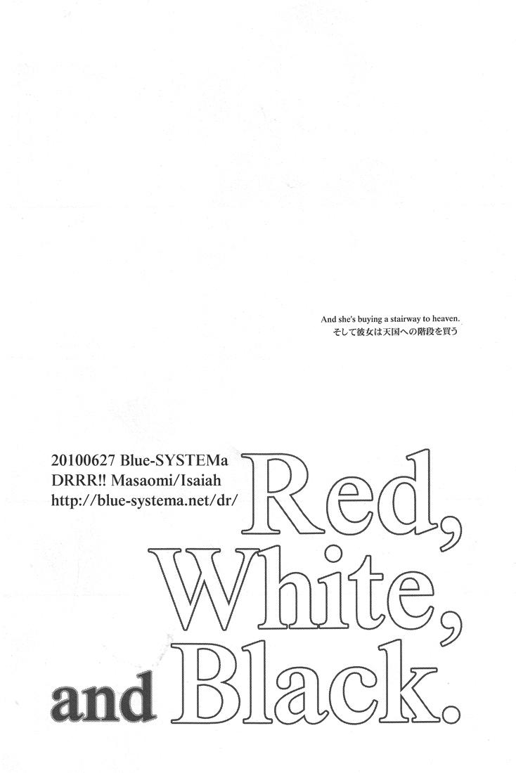Red, White, and Black 10