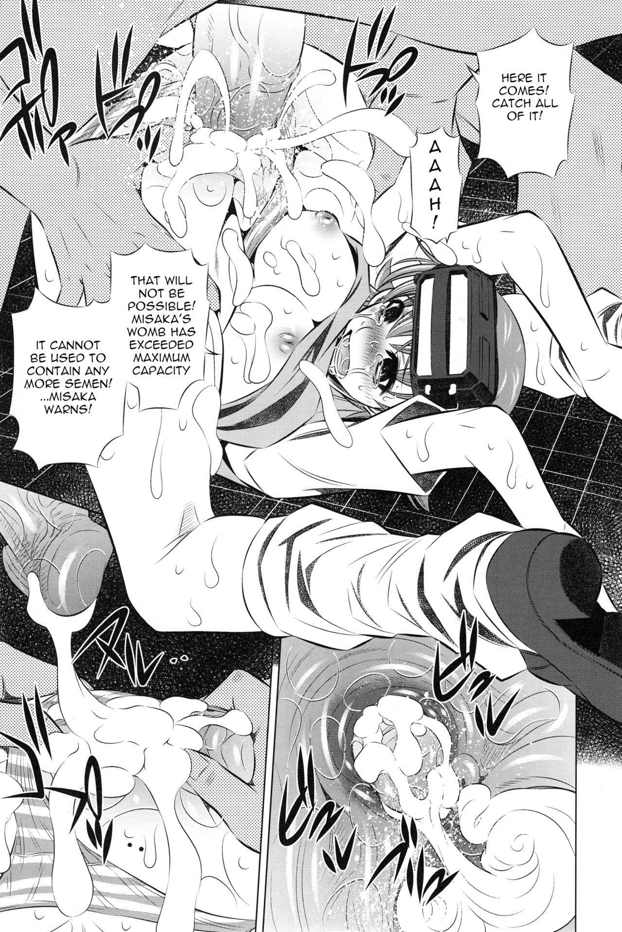 (C77) [Yuugai Tosho Kikaku (Tanaka Naburu)] Kowarekake no Kekkan Denki (radio noise) | Destructive Radio Noise (Toaru Kagaku no Railgun) [English] =Torwyn= [Decensored] 7