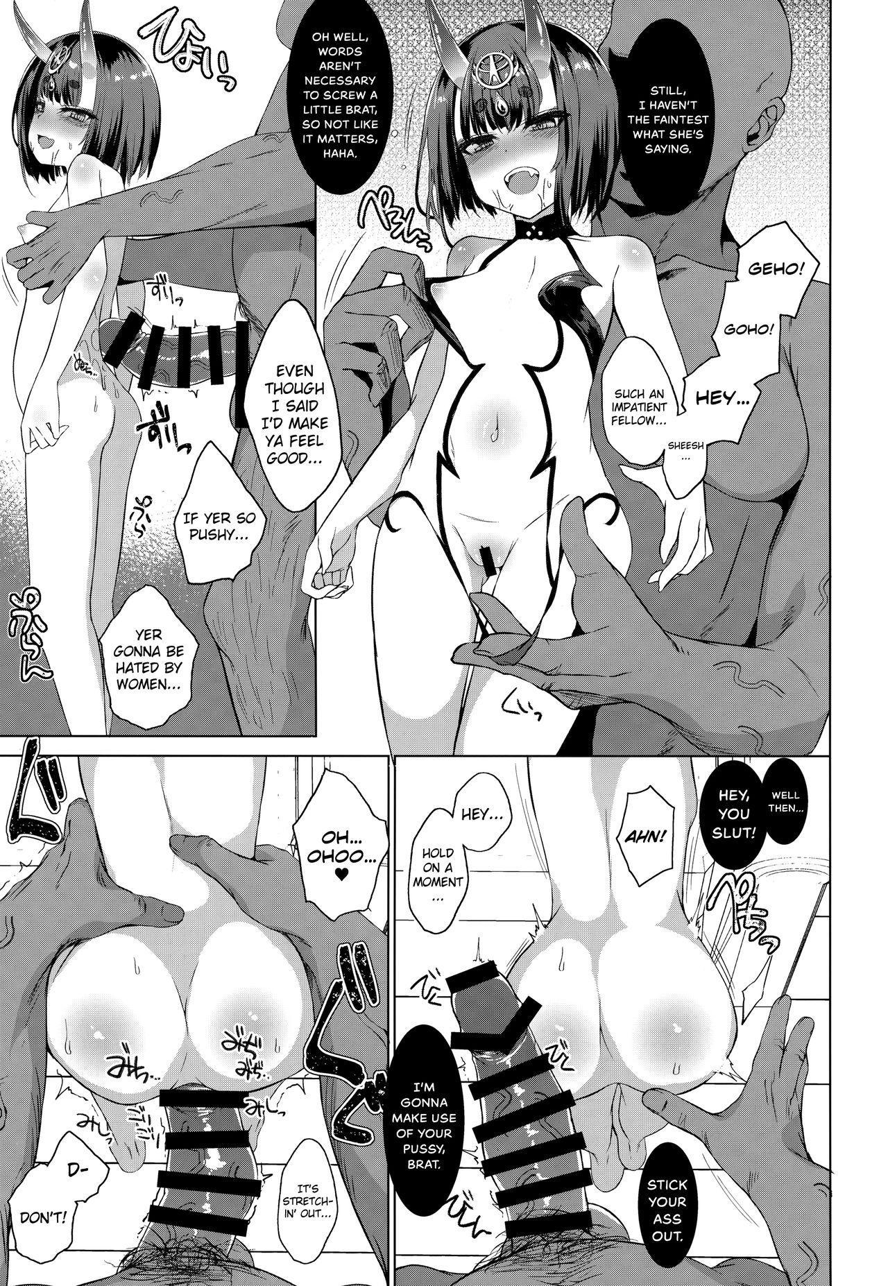 Shuten Douji vs Black Cock 7