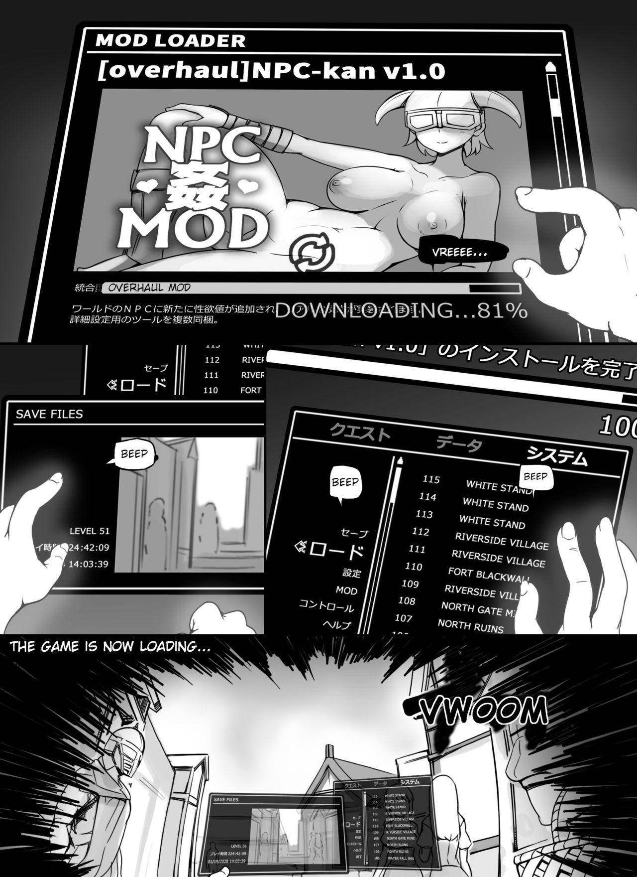 NPC Kan MOD | NPC Rape MOD + Omake 2