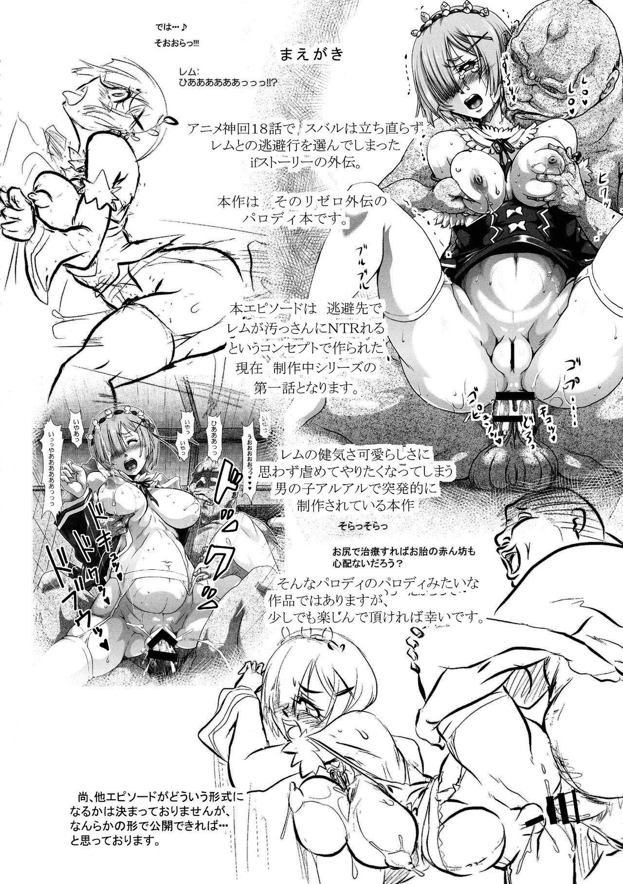 Rem:Danshou Natsuki Rem no Eromanga 2