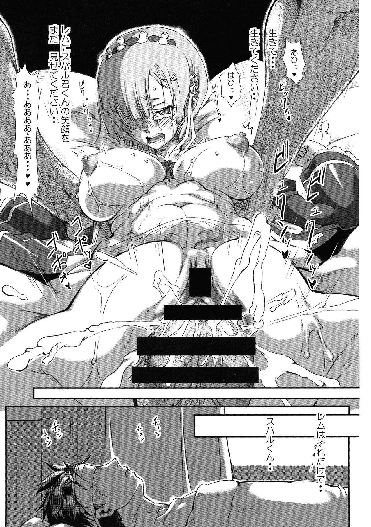 Rem:Danshou Natsuki Rem no Eromanga 28