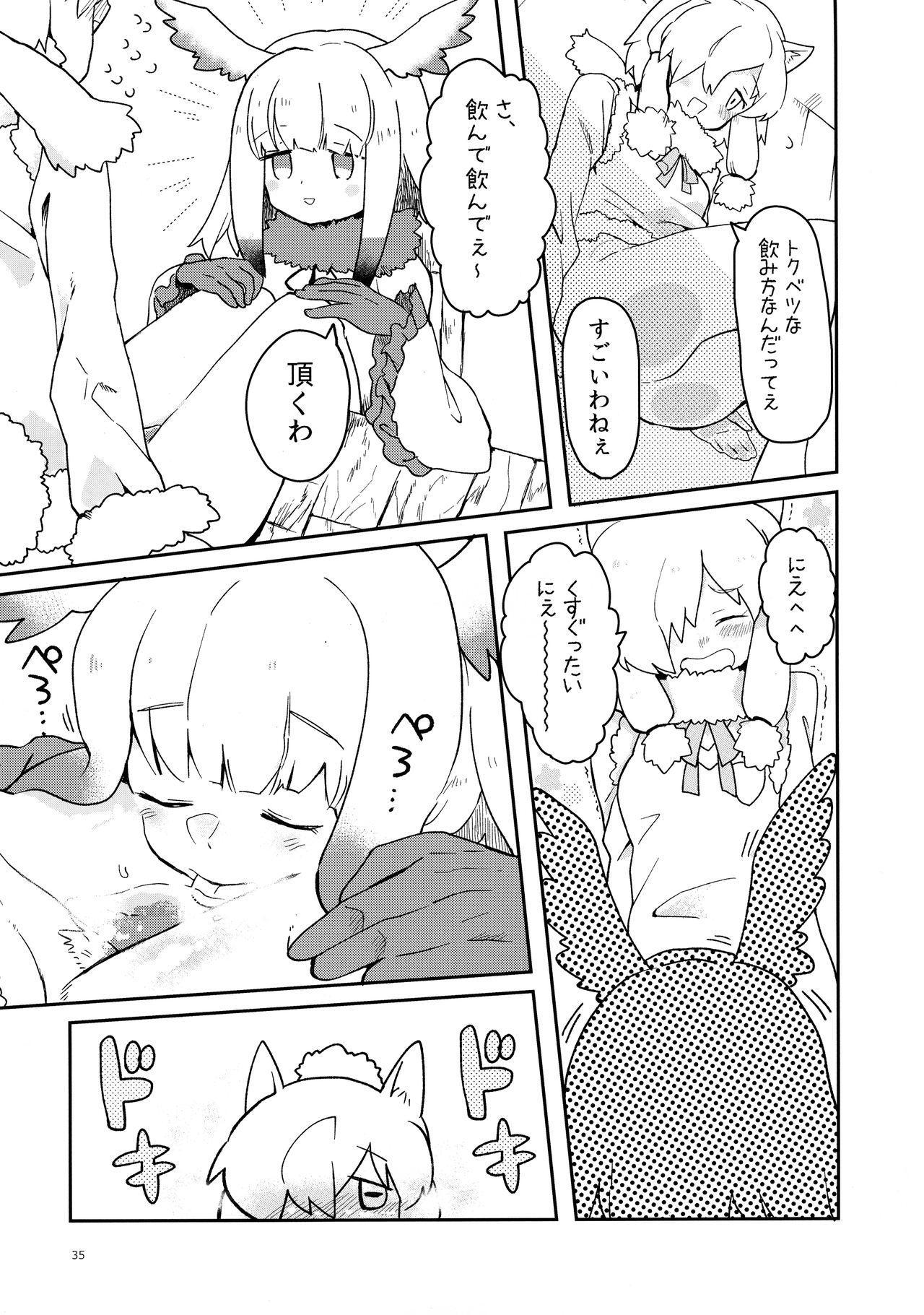 Fuwaaa! Irasshaai! Ura Iyashi no Alpaca-san Goudou 34