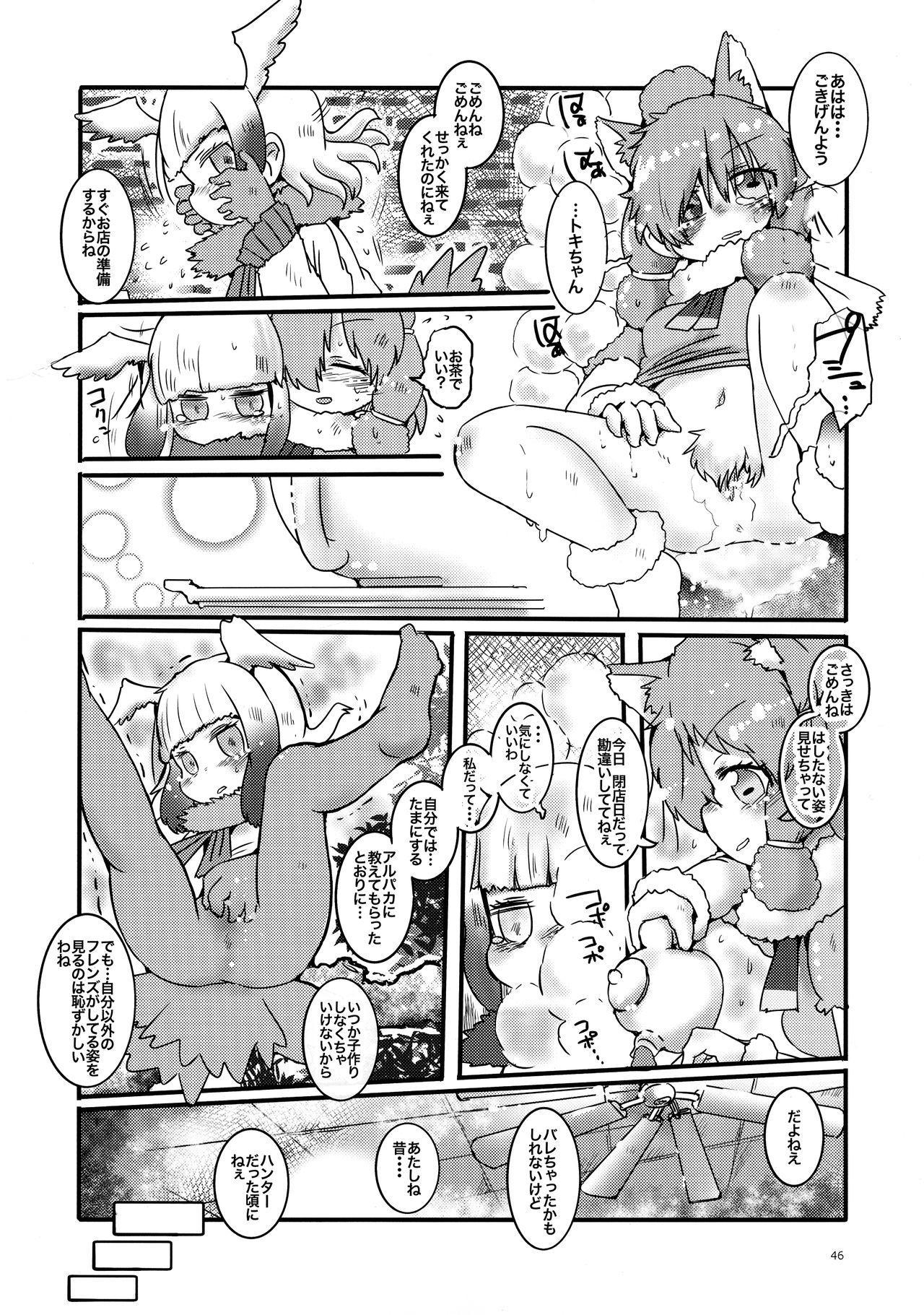 Fuwaaa! Irasshaai! Ura Iyashi no Alpaca-san Goudou 45