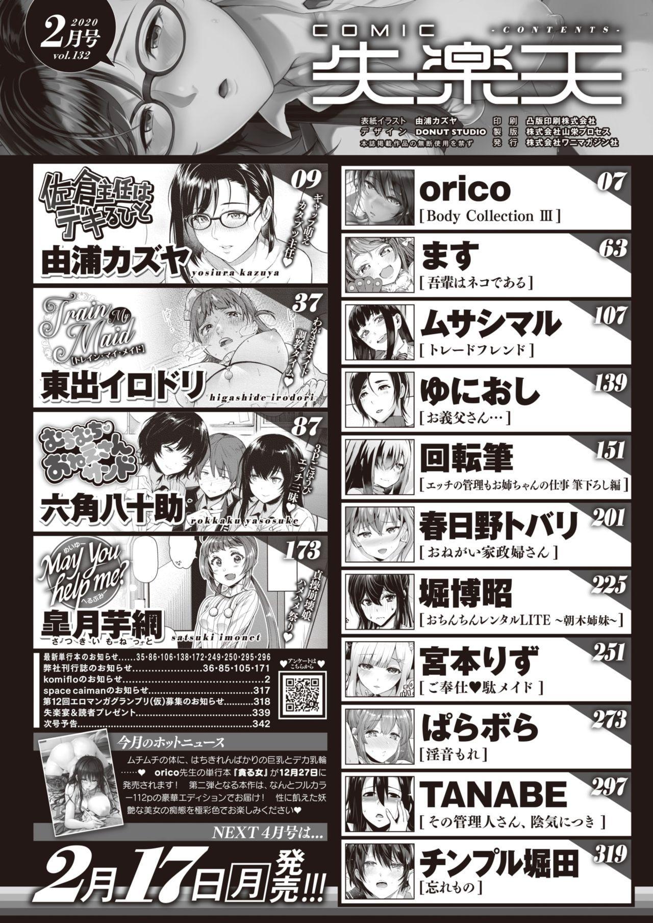 COMIC Shitsurakuten 2020-02 1
