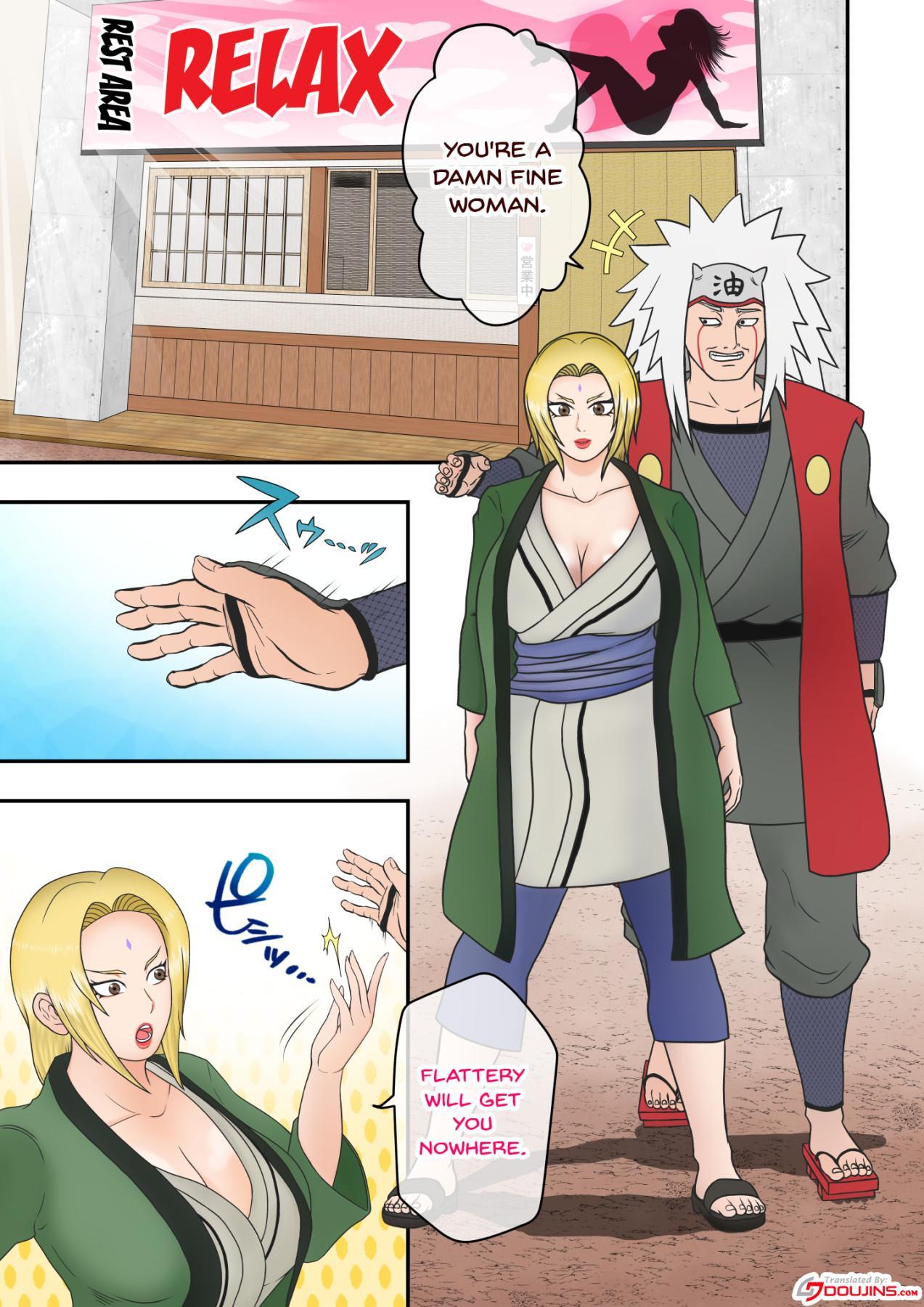 [Asagindo (Asakura Gin)] Tsunade no Seikyouiku 2 ~Kanraku Hen~ | Tsunade's Sex Education 2 ~Surrender Edition~ (Naruto) [English] {Doujins.com} 1