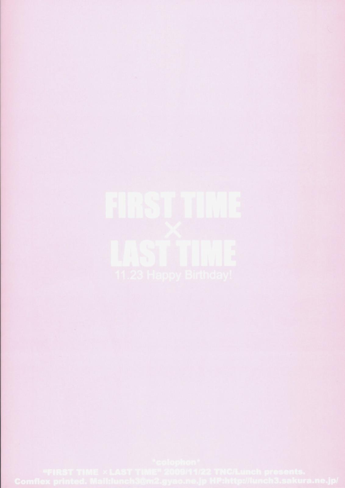 FIRST TIME × LAST TIME 37