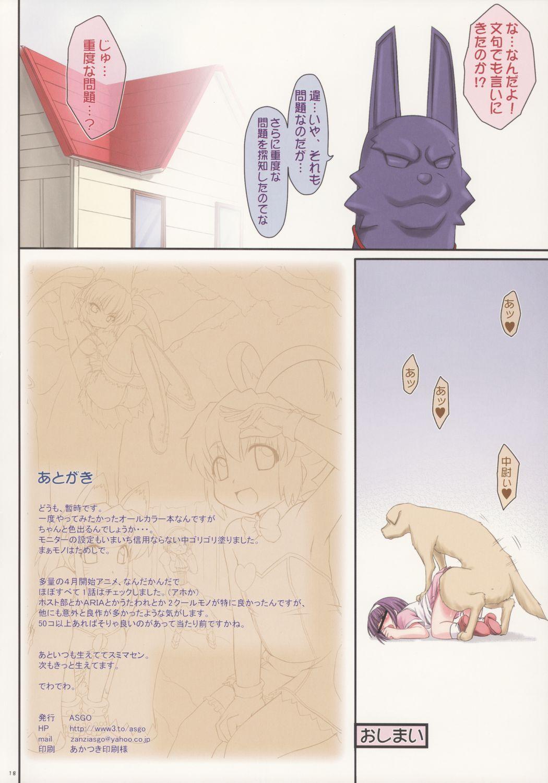Yoshinaga 3-kyuu Magicalsanchi no? Pokahngoyle 16