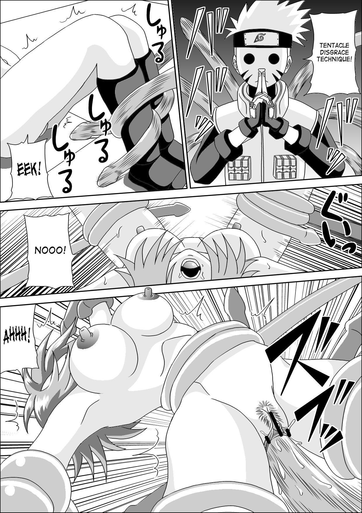 Kunoichi Ryoujoku Tane Tsuki Shugyou | Kunoichi Disgrace Impregnation Training 17