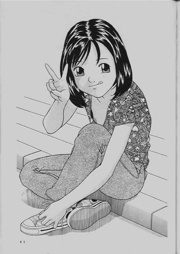 (C64) [Momonga Club (Hayashibara Hikari)] Momo-chan G-nensei 41