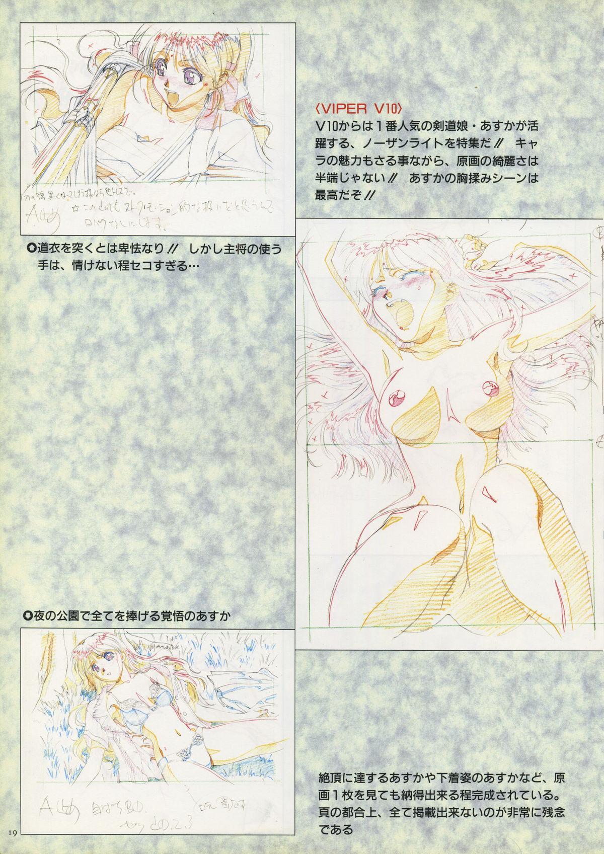 VIPER Series Official Artbook 16